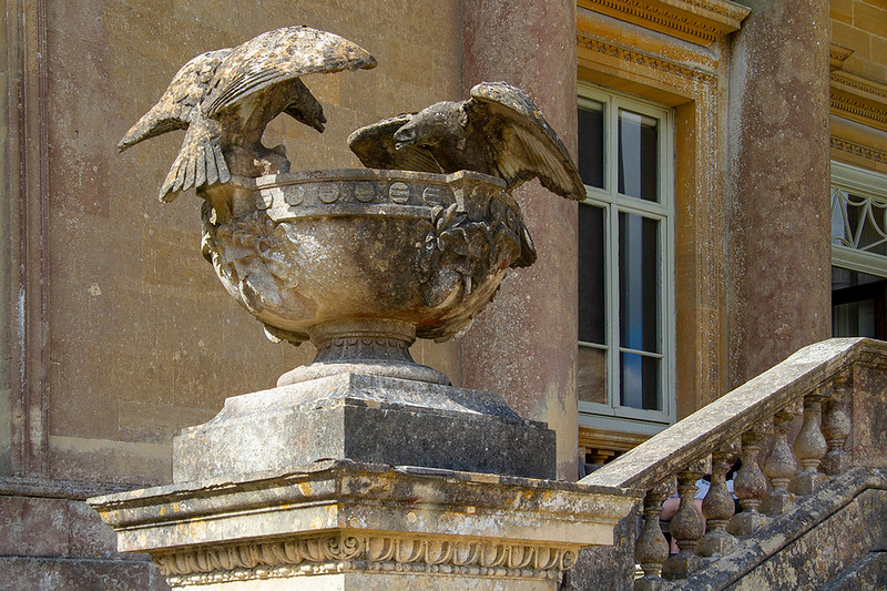8th Sep 2019:  Stone Eagles at Stourhead House