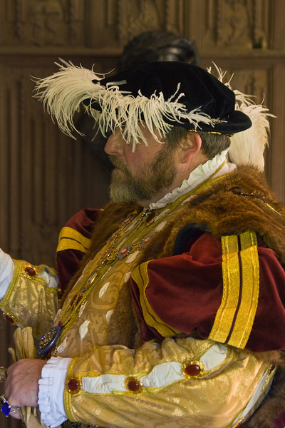 27th May 12:  Henry VIII at the Vyne