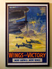 7th Apr 2016: A wartime poster in one of the corridord