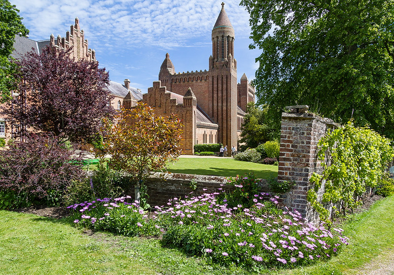 4th Jun 2015:  Quarr Abbey on the Isle of Wight