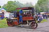 19th May 12:  KM 514 leaves for the display ring at ther Castle Combe Steam Ralley