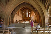 4th Jun 2015:  Interior Quarr Abbey on the Isle of Wight