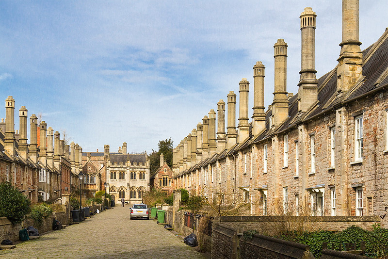 5th Feb 14:   Black sack day at Vicars Close in Wells