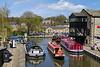4th May 2016:  Canal boats at Skipton
