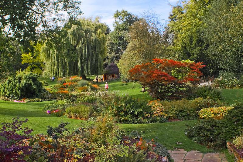 30th Sep 07:  Autumn colours at Bressingham Gardens