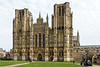 5th Mar 14:  The  West Front of Wells Cathedral