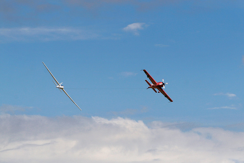 21Jul 07: Coming in for a fast rolling pass by both aircraft at Duxford