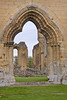 22nd Apr 12:  Byland Abbey in Yorkshire