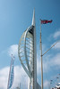 4th Jul 13:  The Spinaker Tower from Gunwharf Quays