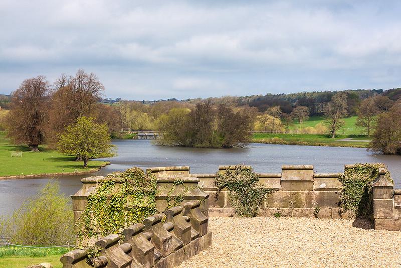 5th May 13:  The lake at Ripley Castle