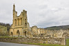 22nd Apr 12:  The ruined Byland Abbey in Yorkshire
