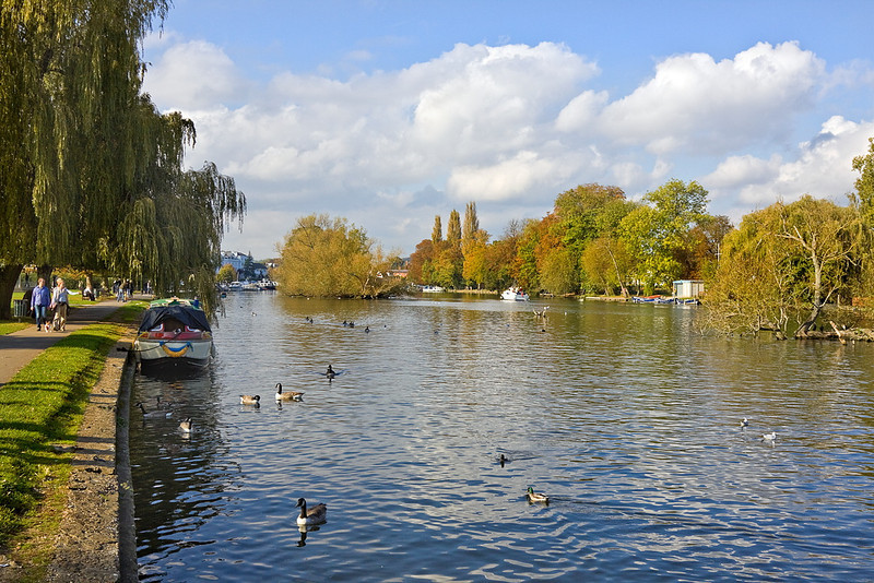 16th Oct 11:  Henley on Thames looking down stream