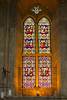 31st May 2014:  One of the August Pugin designed windows within Boulton Abbey