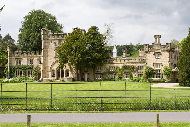 31st May 14:  Boulton Hall oppossite Boulton Abbey