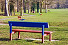 1st Mar 12:  Park seats in Great Hollands Recreation ground
