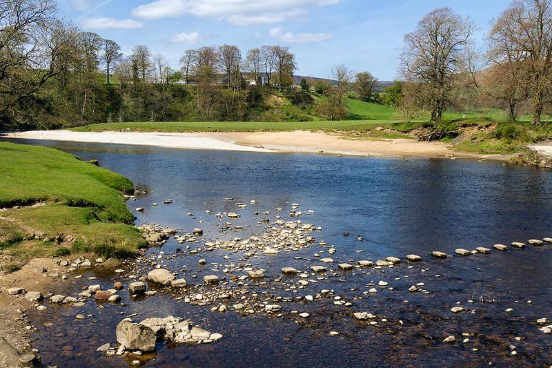 4th May 2016:  The River Wharfe at Bolrton Abbey