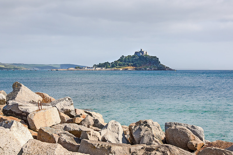 14th Sep 12:  St Michaels Mount from Long Rock