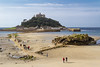 9th Sep 2015:  St Michaels Mount from the Godolphin Hotel balcony