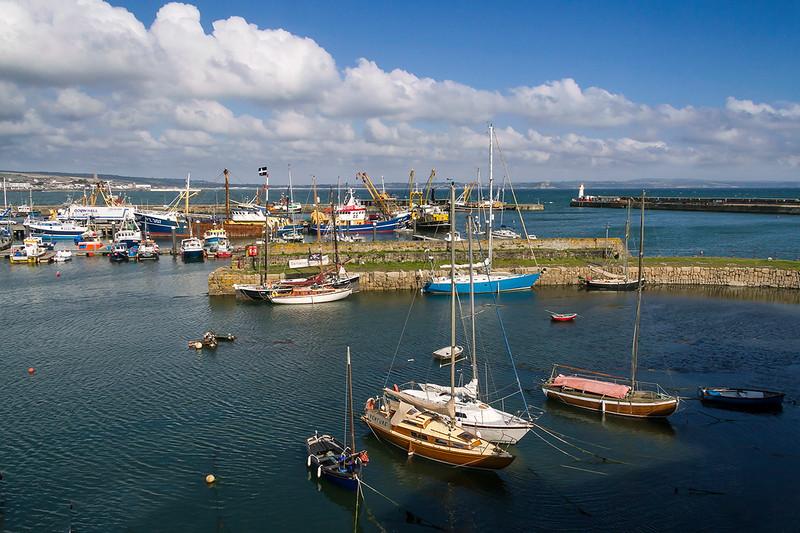 10th Sep 2015:  Newlyn Harbour