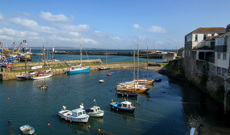 9th Sep 2015:  Newlyn Harbour