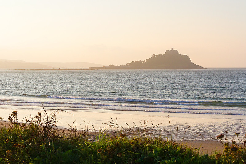 10th Sep 2015:  St Michael's Mount from Long Rock in early morning