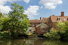 16th Jul 14:  Flatford Mill from the River Stour