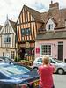 15th Jul 14:  Pam shooting 'Munnings Tea Room Emporium' in Lavenham