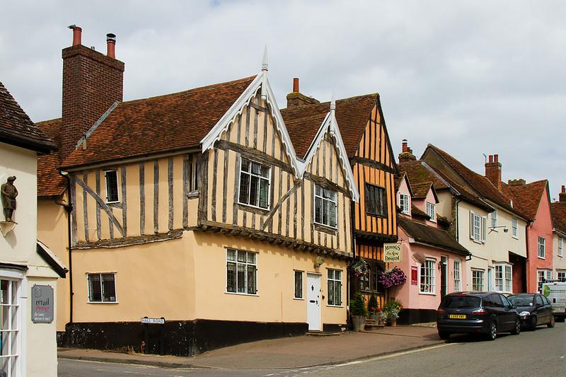 15th Jul 14:  High Street in Lavenham