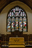 16th Jul 14:  The Altar and window at St Mary the Virgin at East Bergholt
