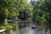 16th Jul 14:  The rowing boat Sue at Flatford Mill