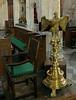 25th Oct 13:  Brass eagle lecturn in Edington Priory