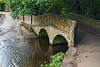 2nd Sep 2015:  The foot bridge next to the ford in Lacock