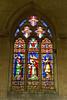 25th Oct 13:  Memorial Window at Edington Priory Church