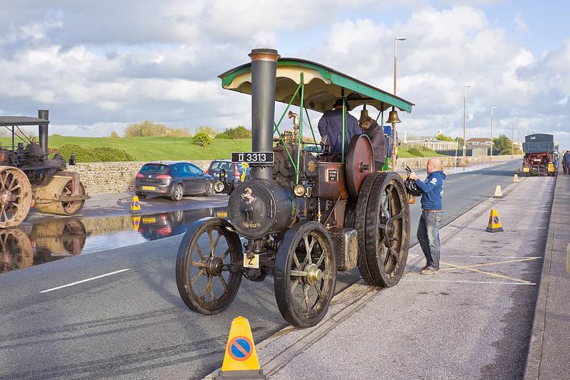 30th Oct 10:  1907 Aveling & Porter Tractor (D3313) Little Lucy 4nhp Engine No 6298 - Littlehampton