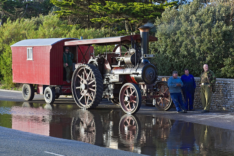 30th Oct 10:  1903 Burrell Traction Engine (TA1489) Buller 6nhp Engine No 2575 - Littlehampton