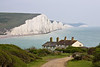 15th Apr 09: The Coastguard cottages and Seven Sisters