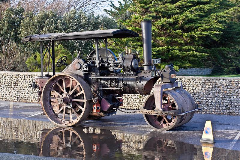 30th Oct 10:  Fowler No.19045. Reg No. TK 6141. Built 1931. - Littlehampton