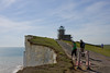 16th Jun 09: The Belle Tout lighthouse.  Some years ago this whole structure was moved back 50 ft to stop it falling in to the sea