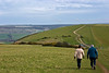 30th Mar 08::  The Walk, Firle Beacon, East Sussex