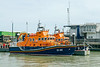 19th Jul 2015:  Harwich Life Boat Centre with  RNLB 'The Will@ and 'RNLB Albert Brown' moored outside
