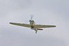 8th May 10: BBMF Hurricane fly past