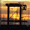 Southampton Docks - Sunset