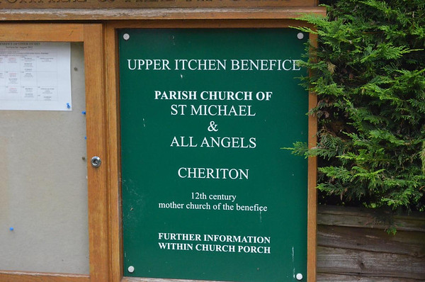 St Michael & All Angels Church - Cheriton, Hampshire.