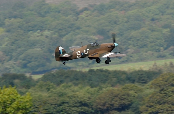 Spitfires and other flying aircraft