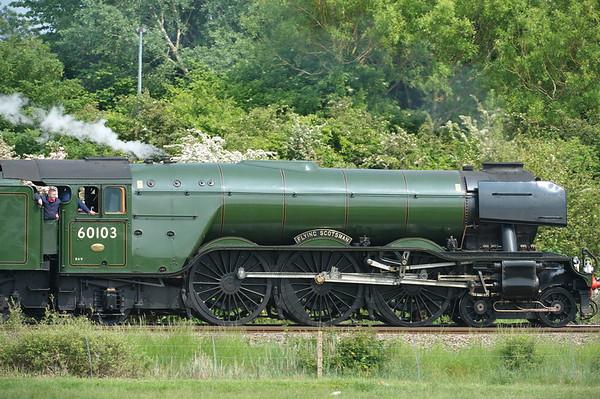 The Flying Scotsman 28/05/16 - Redbridge