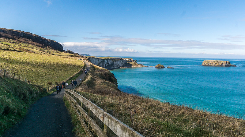 Carrick-a-Rede: Ballycastle, Nordirland