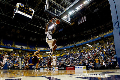 UTC Mocs mens basketball at the McKenzie arena in Chattanooga Tennessee