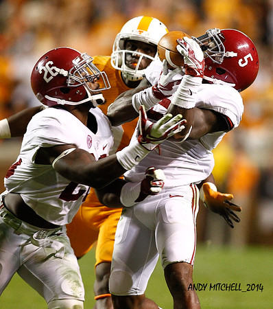 NCAA FOOTBALL: OCT 25 Alabama at Tennessee