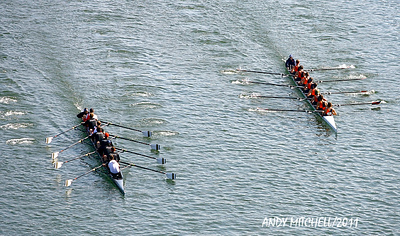 Head of the Hooch Regatta held on the Tennessee River in Chattanooga TN
