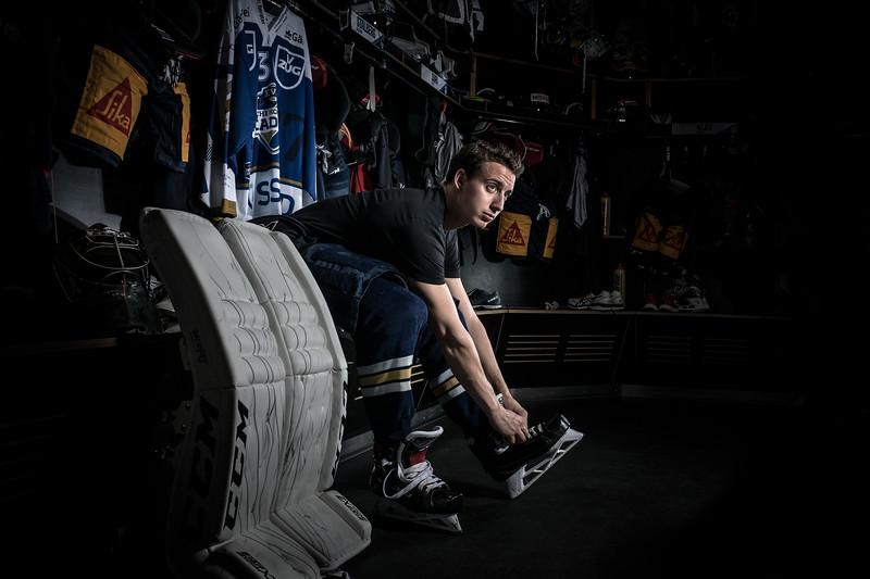 Fotoshooting Eishockey - EV Zug